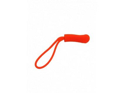 Ergonomický taháček na zip křiklavě oranžový
