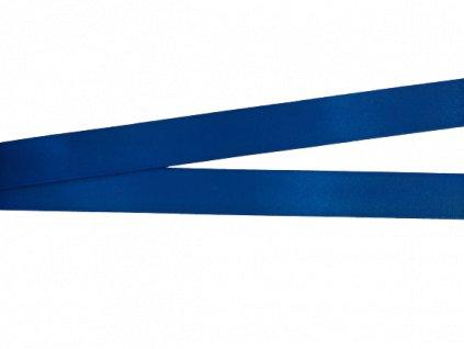 Atlasová stuha 20 mm královsky modrá