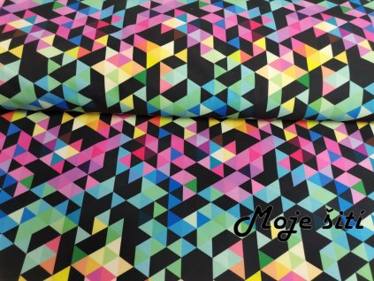 Jarní softshel Digi trojúhelníky