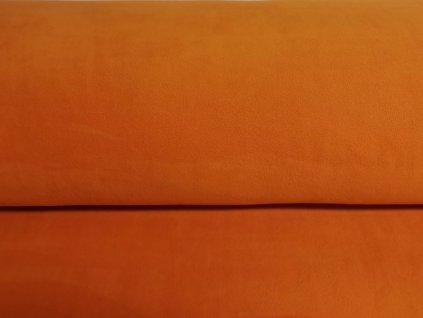 MicroFleece Oranžový