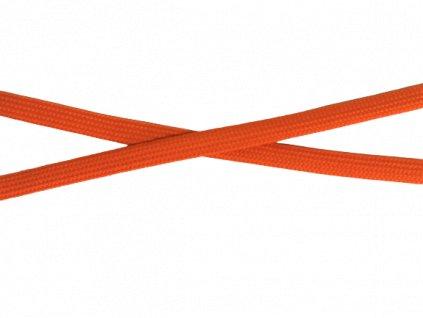 plochá šňůra oranžová