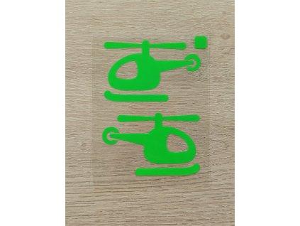 zelené helikoptéry