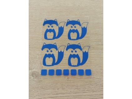 modré lištičky