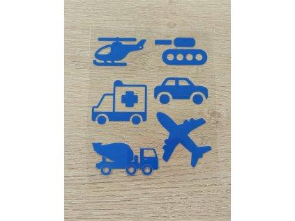 dopravní prostředky se sanitkou