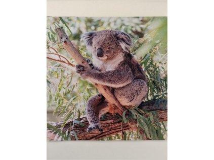 Softshellový zimní panel Koala 20x20cm
