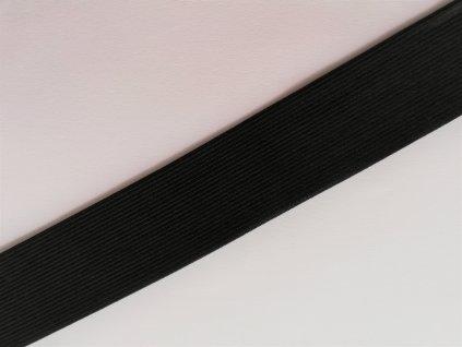 Pruženka černá 4cm