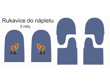 střih do nápletu liška 2r