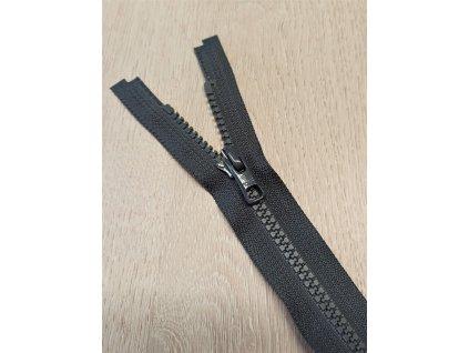 Zip YKK QuickFree® - tmavě šedý