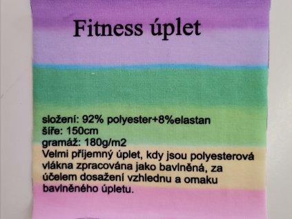 Vzorek Fitness úplet