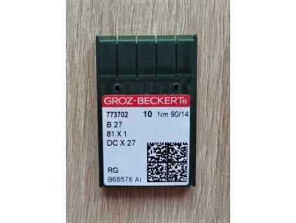 Jehly strojové B27/81x1/DCx1 70-100 90/14