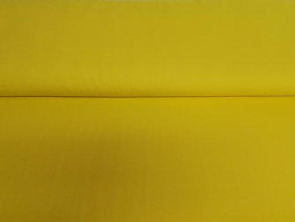 100% bavlněný úplet Kanárkově žlutý