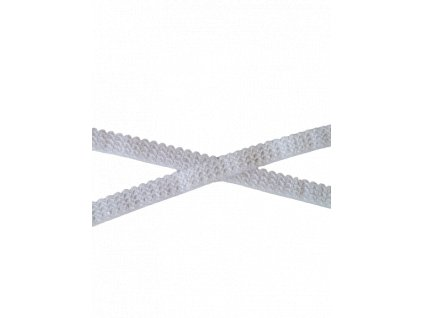 Pruženka prádlová 14mm bílá