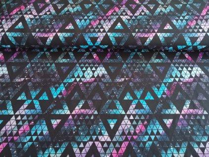 Barevné trojúhelníky velké (4)