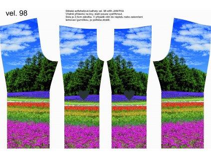 Panel na softshellové kalhoty