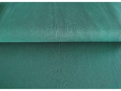 Bavlněný náplet s elastanem Zelený les 2x2 žebro