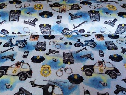 teplákovina policie