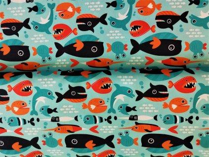 Micropeach Dravé rybičky