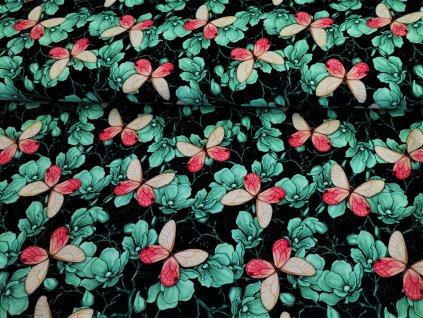 Motýlci na květu