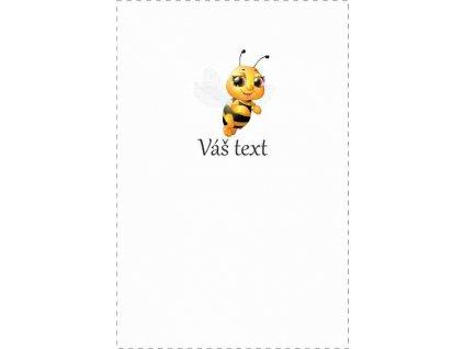 roztomilá včelička text