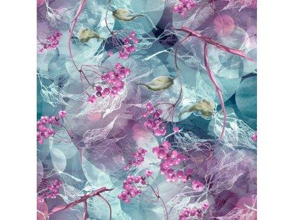 růžové jeřabiny