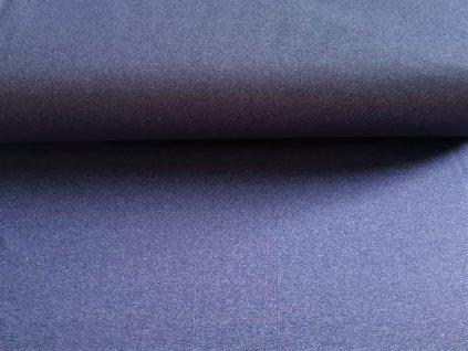 Modrý jeans melír