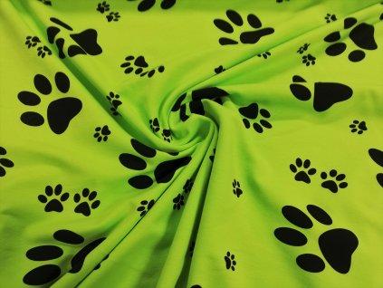 tlapky na neon zelené (1)