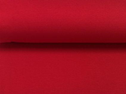 100% bavlněný úplet červený (8)