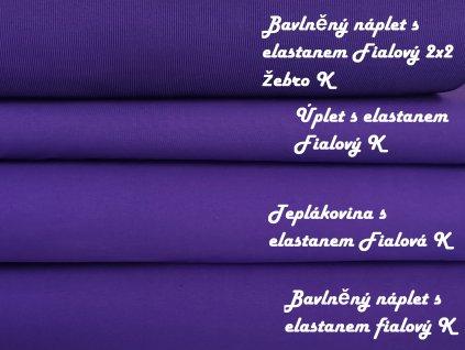 fialový náplet