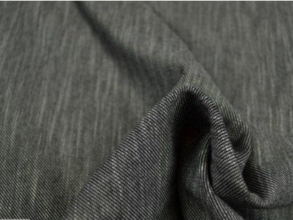 šedý melír jeans