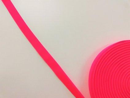 neon růžová pruženka