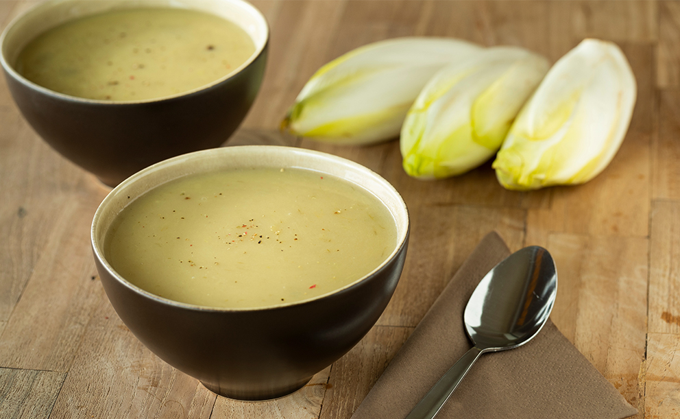 Recept na čekankovou krémovou polévku