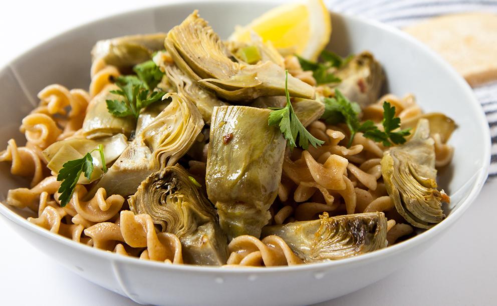 Recept na dušené artyčoky na italský způsob