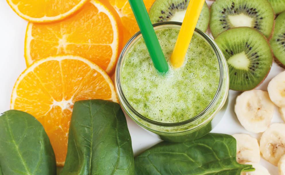 Smoothie vitamínové bomby s citrusy