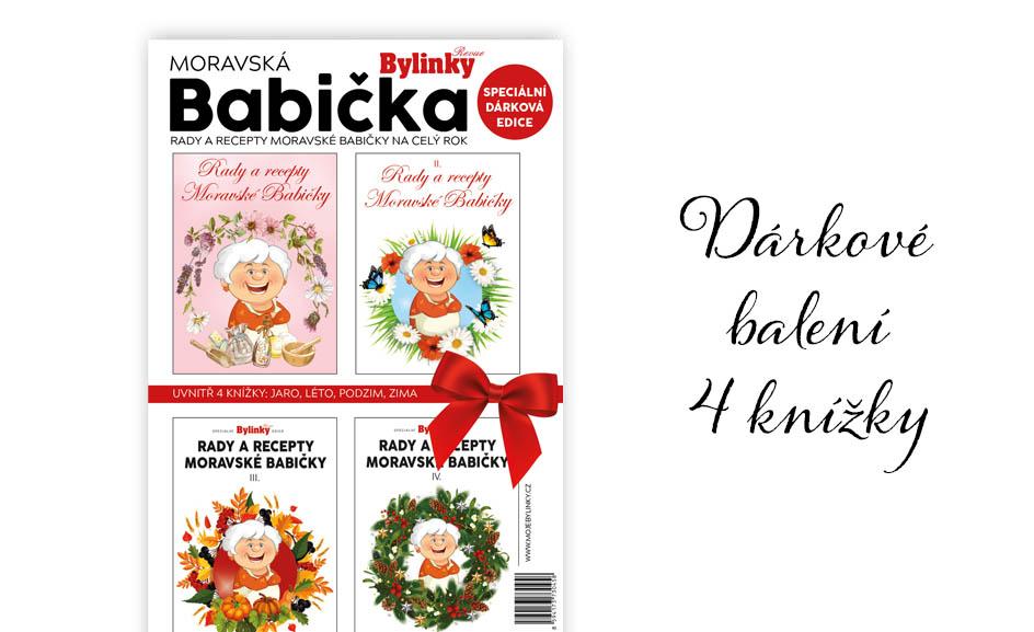 Dárkové balení Moravské Babičky, kompletní rok