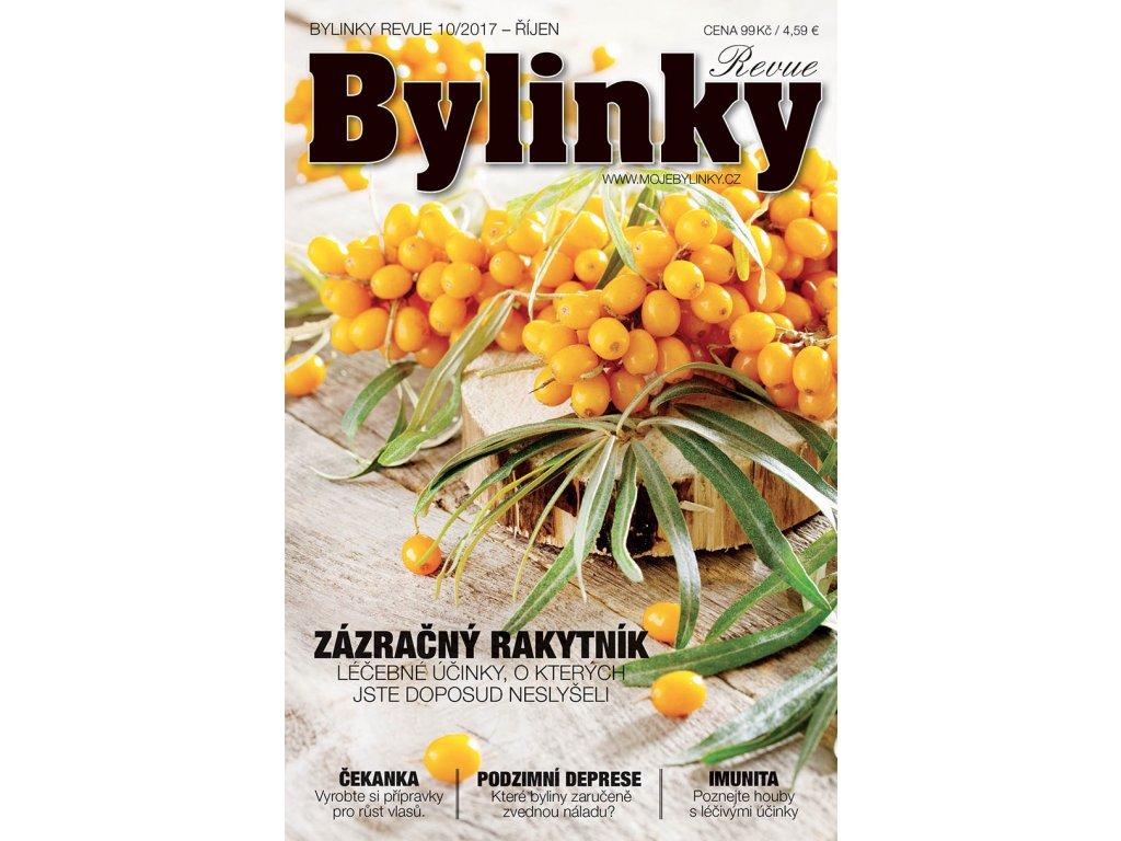 Bylinky revue 10/2017  ZÁZRAČNÝ RAKYTNÍK - ZÁZRAČNÉ ÚČINKY, O KTERÝCH JSTE DOSUD NESLYŠELI