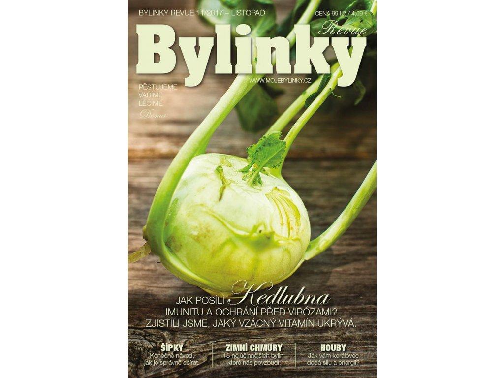 Bylinky revue 11/2017  JAK POSÍLÍ KEDLUBNA IMUNITU A OCHRÁNÍ PŘED VIRÓZAMI