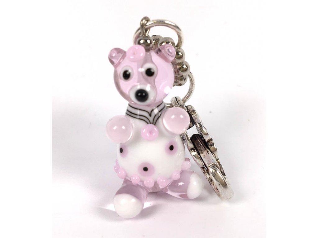 Medvídek růžový  Kouzelný medvídek, růžový