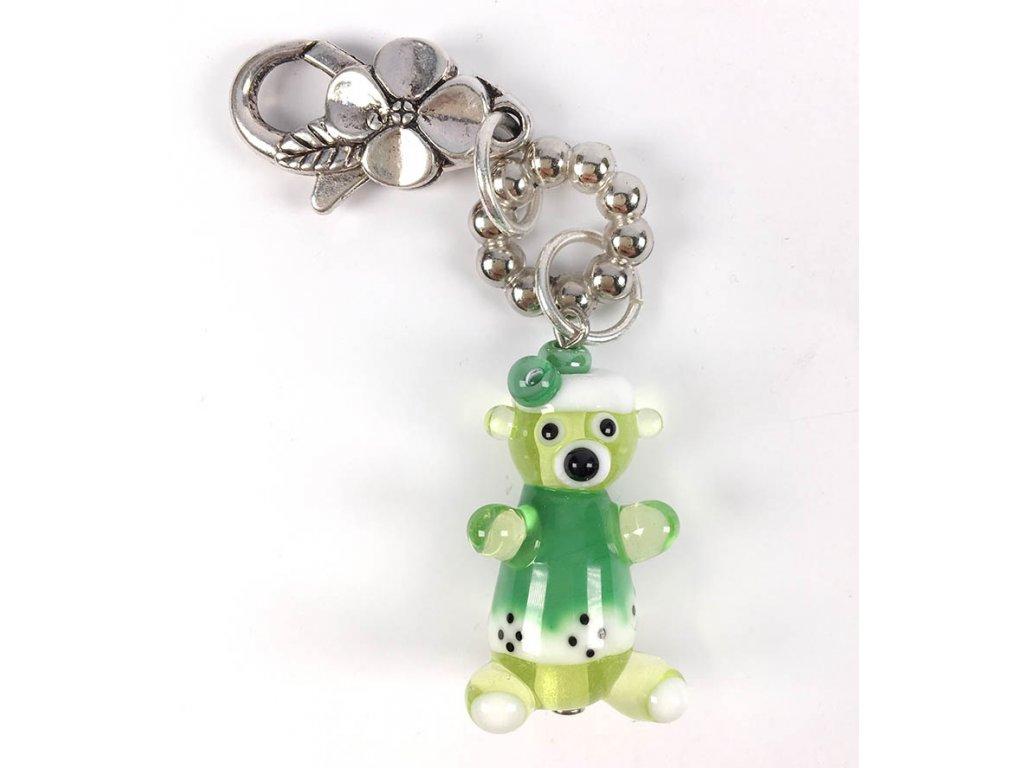 Medvídek zelený  Kouzelný medvídek, zelený