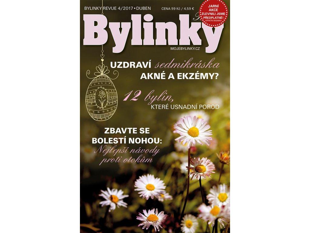 Bylinky revue 4/2017  UZDRAVÍ SEDMIKRÁSKA AKNÉ A EKZÉMY?
