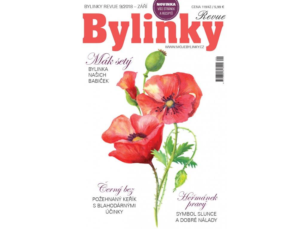 Bylinky revue 9/2018  MÁK SETÝ, BYLINKA NAŠICH BABIČEK
