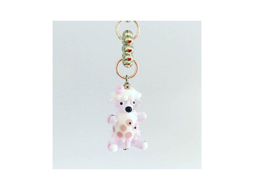 Medvídek růžovobílá  Kouzelný medvídek