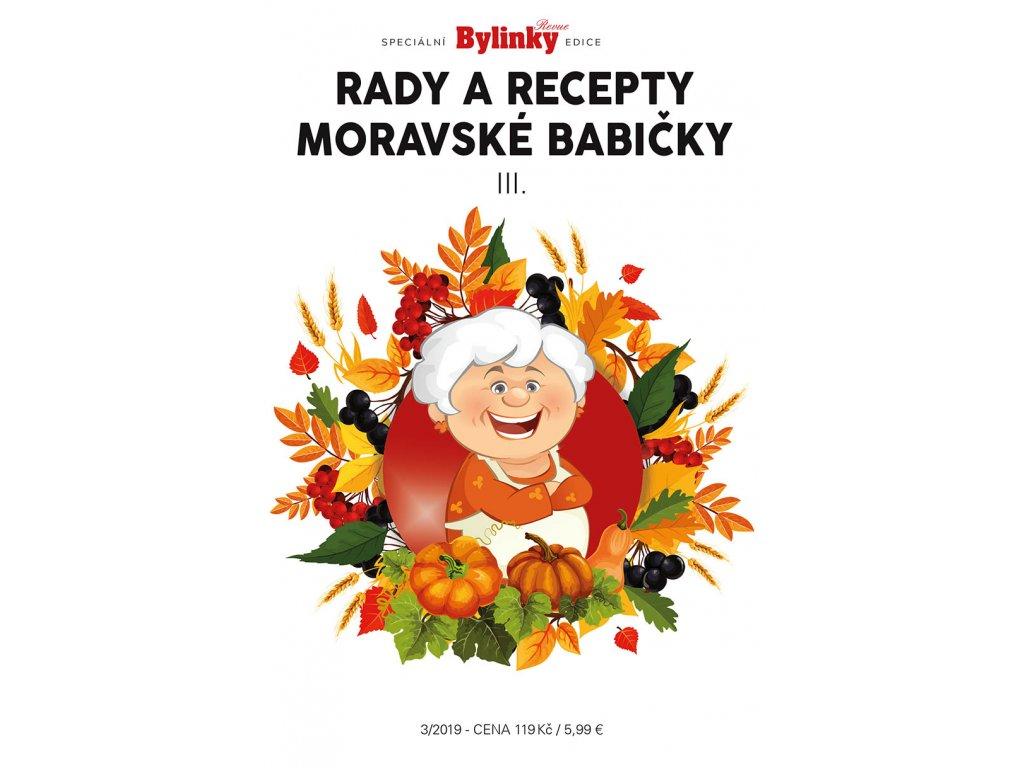 Rady a recepty Moravské Babičky 3/2019