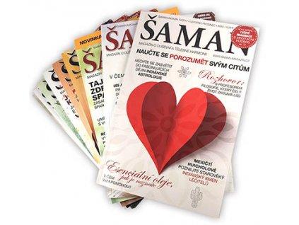Kompletní rok 2017, 9 čísel Šamana  Zakupte si všechna čísla ŠAMANA z roku 2017 v jednom balení. Zvýhodněná cena.