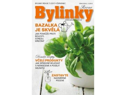 Bylinky revue 7/2017  BAZALKA JE SKVĚLÁ: JAK POMŮŽE PROTI BOLESTI, STRESU, KŘEČÍM?