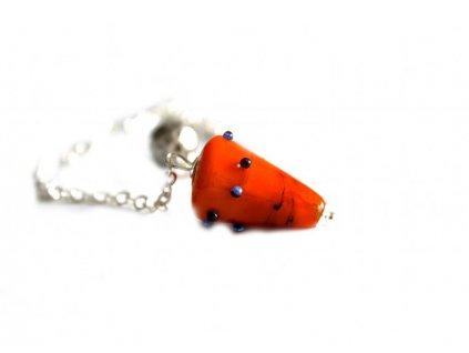 Kyvadlo oranžové