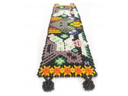 Náramek Huichol art