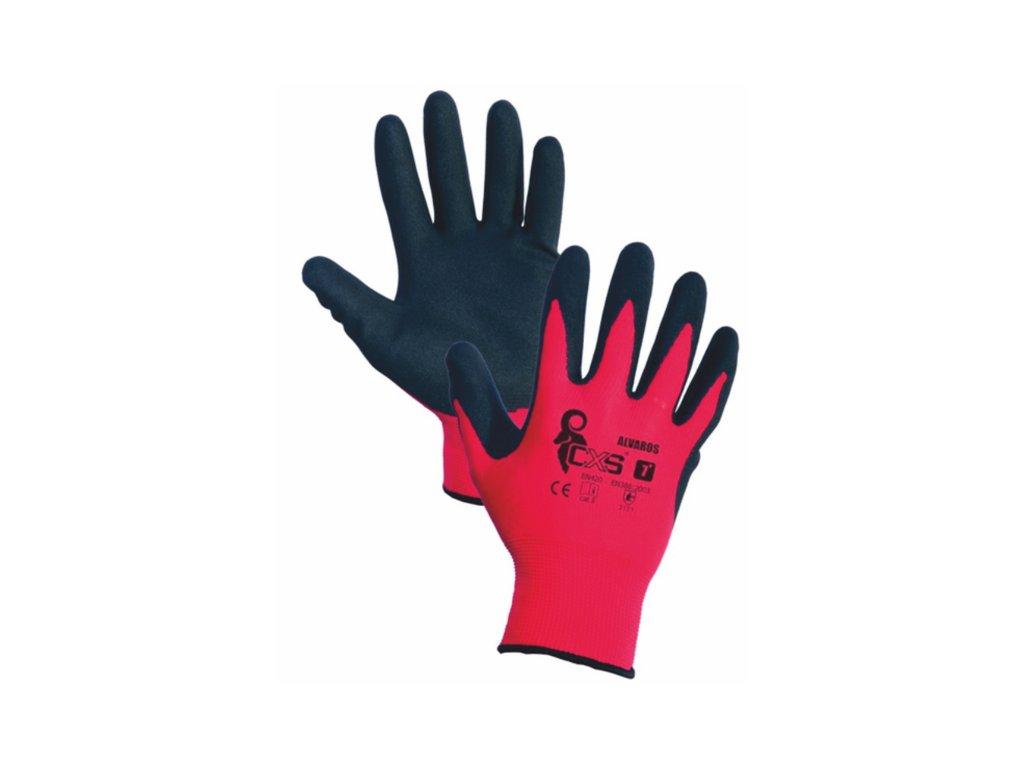Povrstvené rukavice ALVAROS