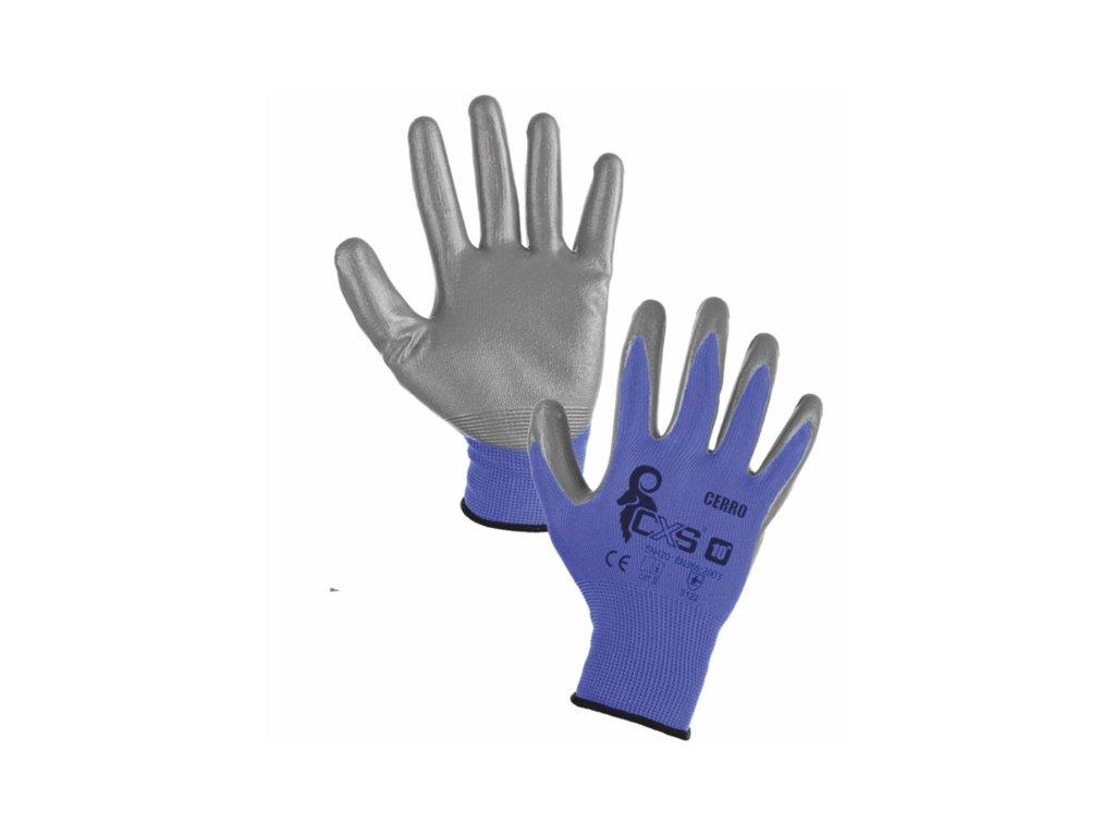 Povrstvené rukavice CXS CERRO