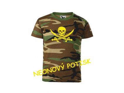 Dětské tričko s PIRÁTEM