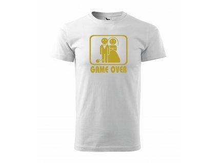 Tričko s potiskem GAME OVER